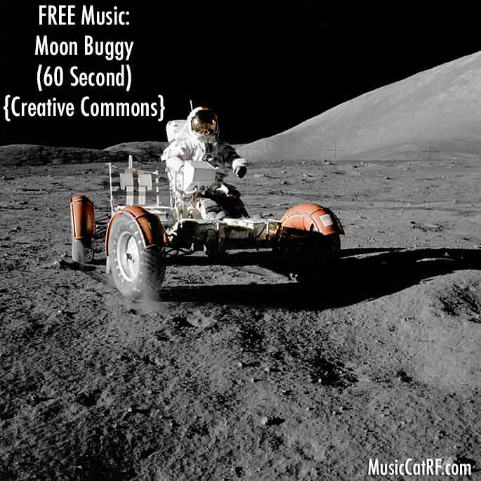 """FREE Music: """"Moon Buggy"""" Song (60 Second) {Creative Commons}"""