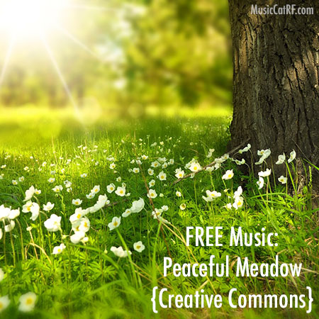 FREE Music: Peaceful Meadow Song {Creative Commons}