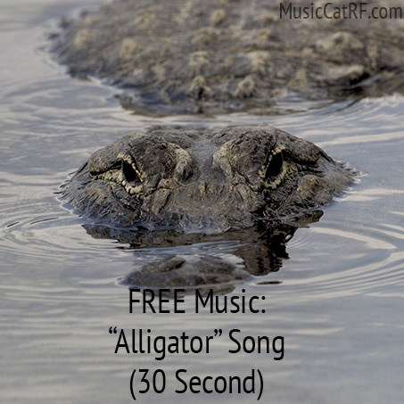 "FREE Music: ""Alligator"" Song (30 Second) {Creative Commons}"