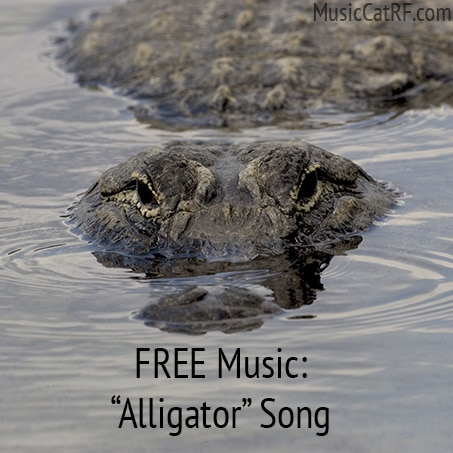 "FREE Music: ""Alligator"" Song {Creative Commons}"