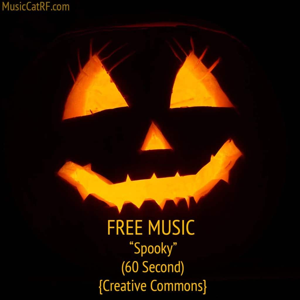 """FREE Music: """"Spooky"""" Song (60 Second) {Creative Commons}"""