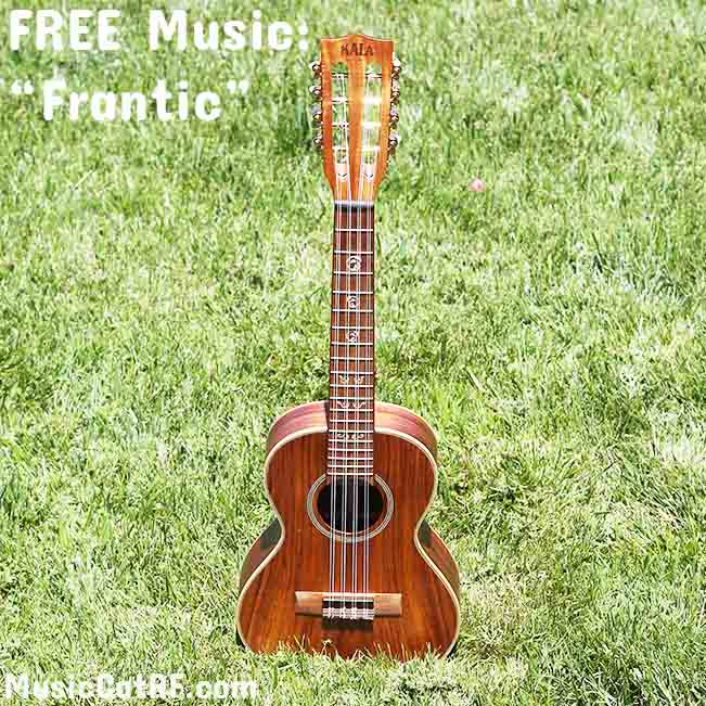 "FREE Music ""Frantic""{Creative Commons}"